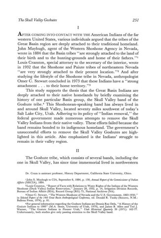 Page 45 of The Skull Valley Band of the Goshute Tribe-Deeply Attached to Their Native Homeland