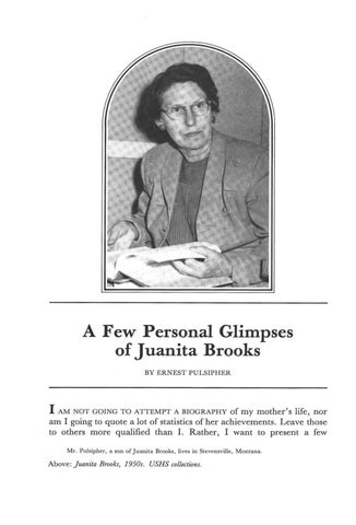 Page 62 of A Few Personal Glimpses of Juanita Brooks