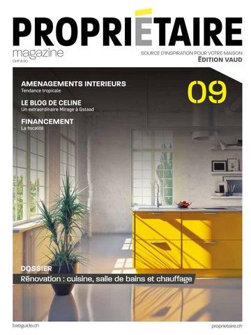 Propriétaire Magazine 09 Printemps 2019 Vaud By Propriétaire