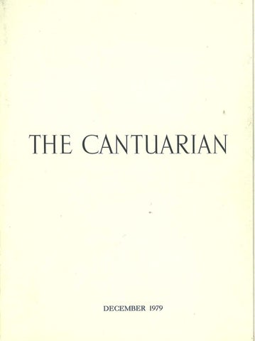 The Cantuarian December 1979 - August 1980 by OKS
