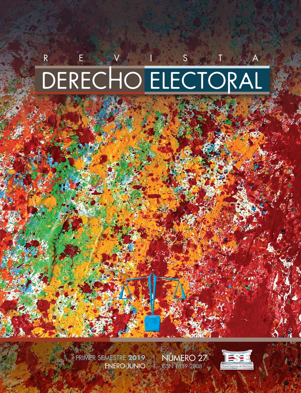 Rde N 27 By Revista De Derecho Electoral Issuu