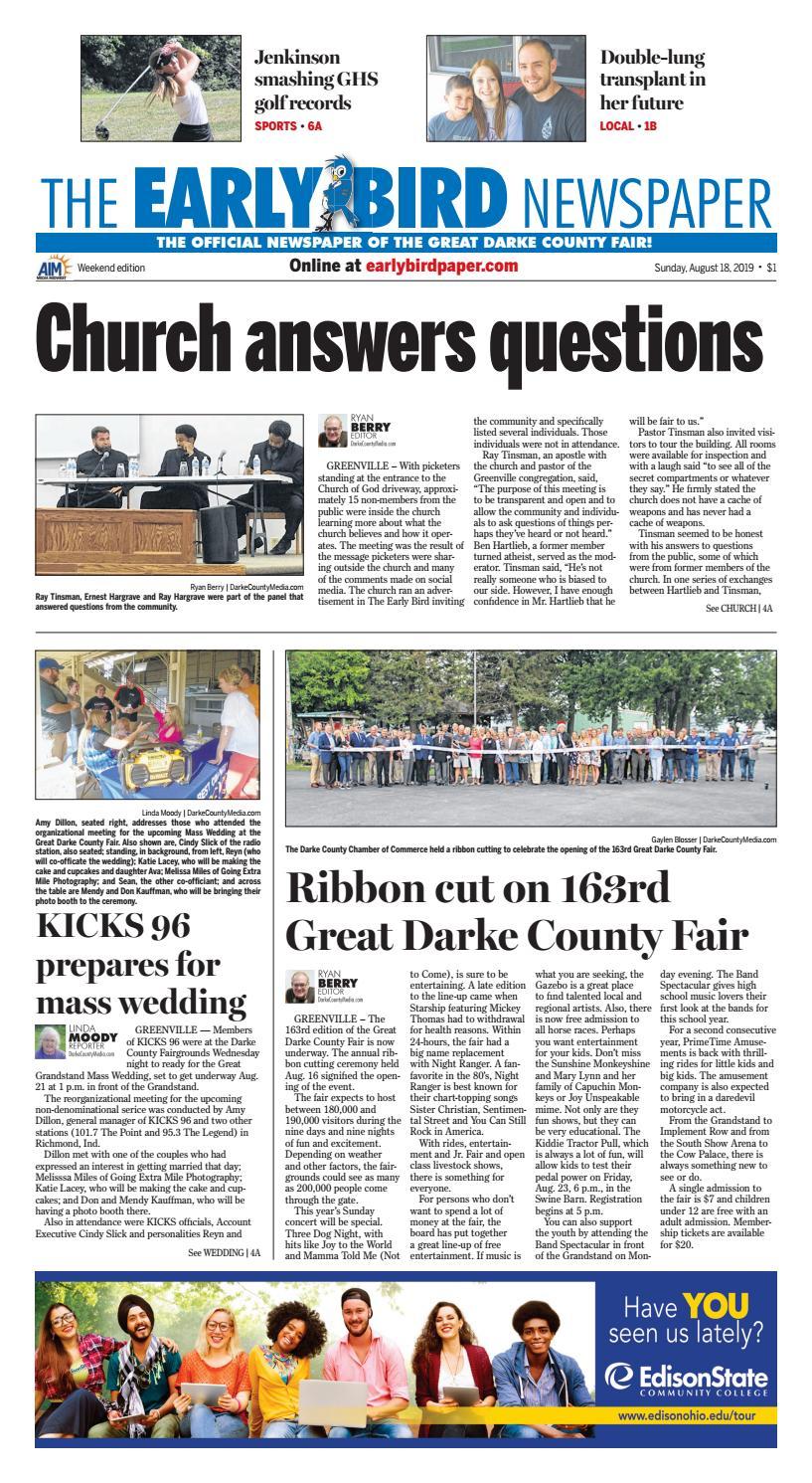 Darke County Arrest Records by City