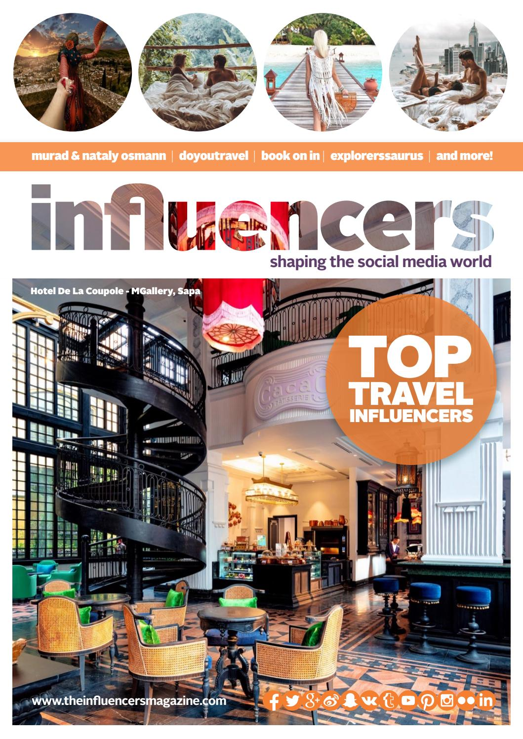 Travel Influencers Magazine August 2019 by World Luxury