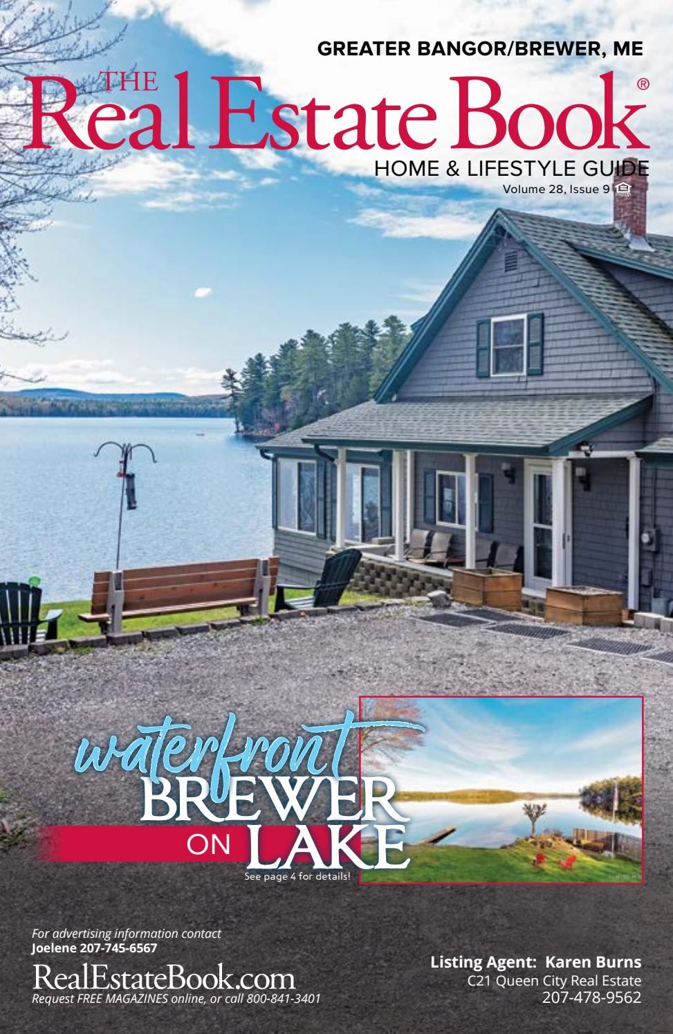 Real Estate Book of Greater Bangor Maine Issue 9 by The Real