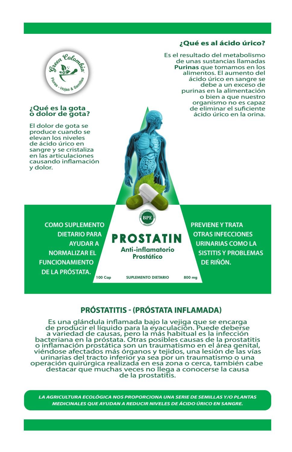 gota y prostata
