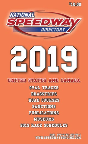 National Speedway Directory - 2019 Edition - Part One by