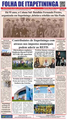 Folha de Itapetininga 17/08/2019 (Sabado)