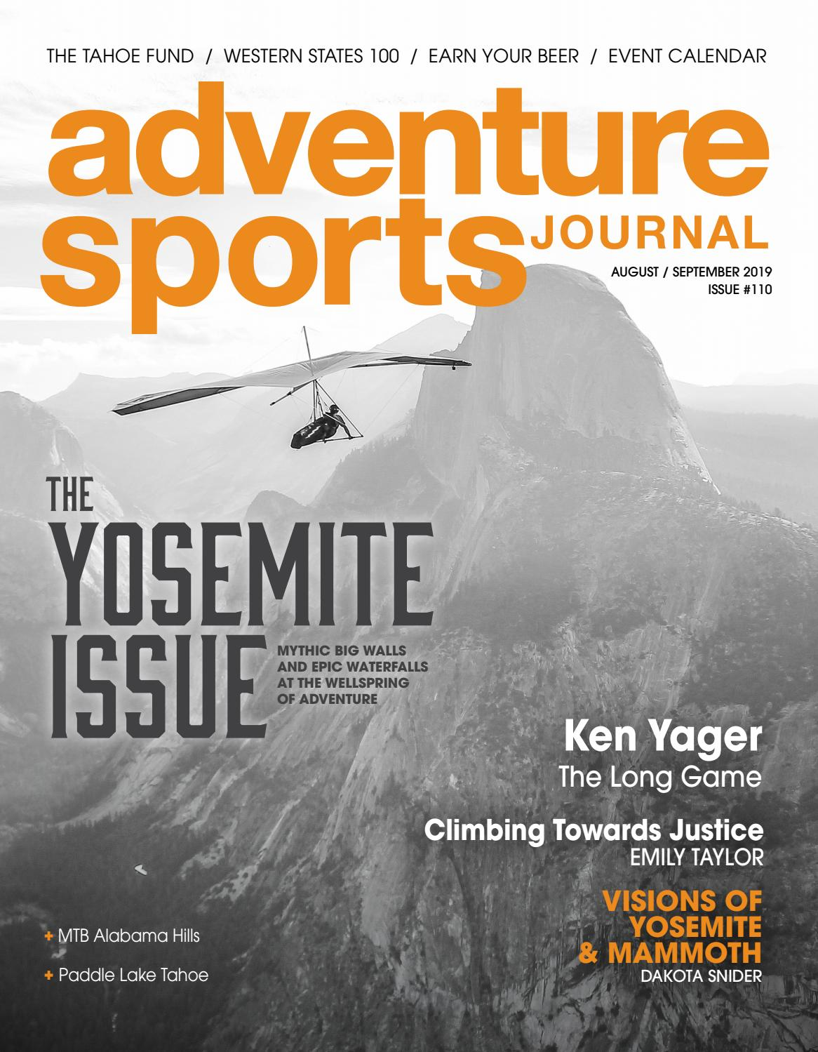 Adventure Sports Journal // Aug/Sept 2019 // #110 by