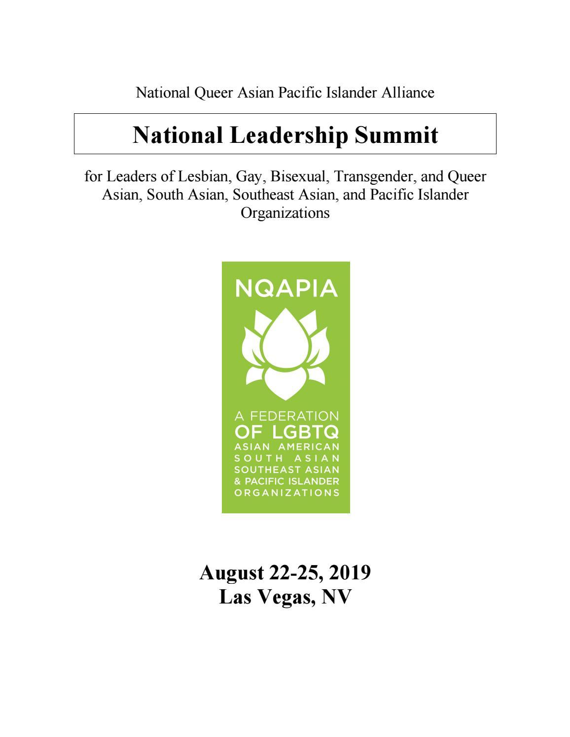 NQAPIA National Summit Training Manual 2019 by Glenn