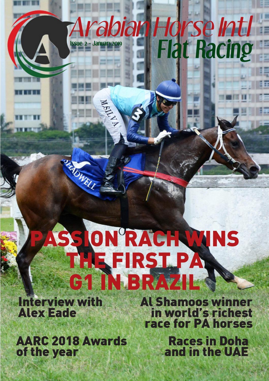 Arabian Horse Intl Flat Racing Issue 2 By Arabianhorseintl Issuu