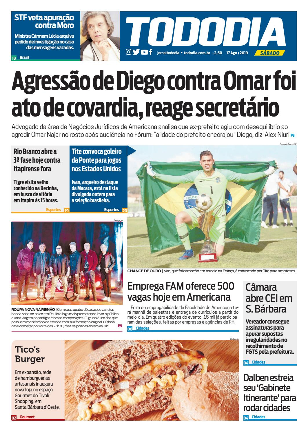 Jornal TodoDia - Edição 17/08 by Jornal TodoDia - issuu
