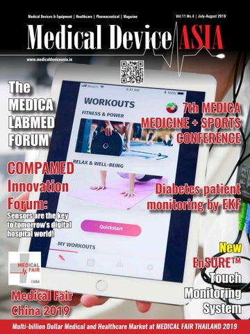 Medical Device ASIA, July-August 2019 by media