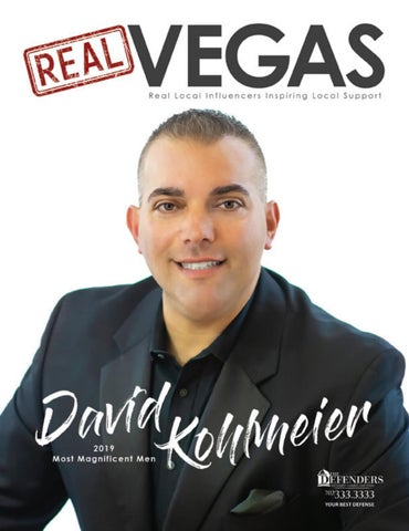 Real Vegas Magazine | David Kohlmeier - V4 by All Pro Media
