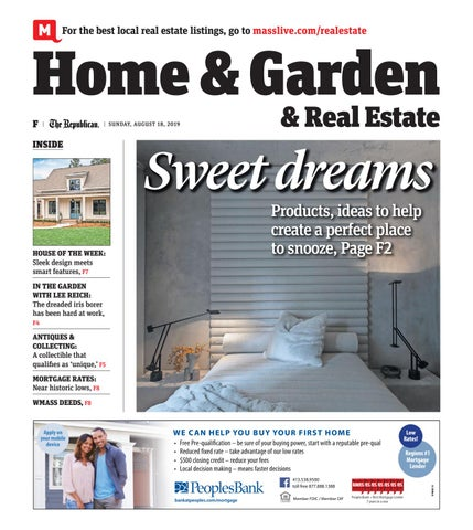 Home and Garden, and Real Estate- August 18, 2019 by