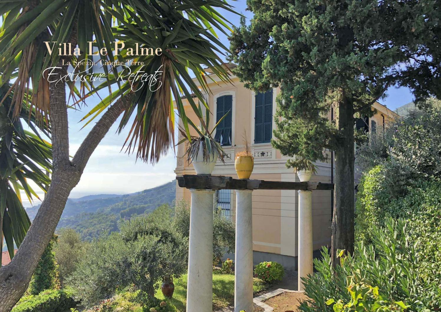 Villa Le Palme Cinque Terre Retreats By Villasretreats Issuu