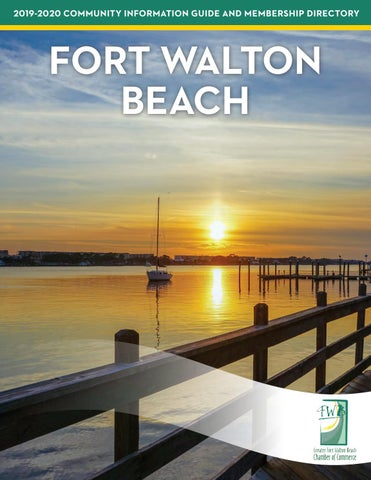 FORT WALTON BEACH 2019-2020 COMMUNITY INFORMATION GUIDE AND