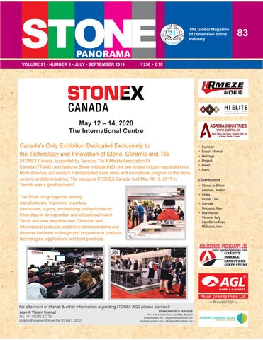 Stone Panorama by Stone Technology Centre - issuu