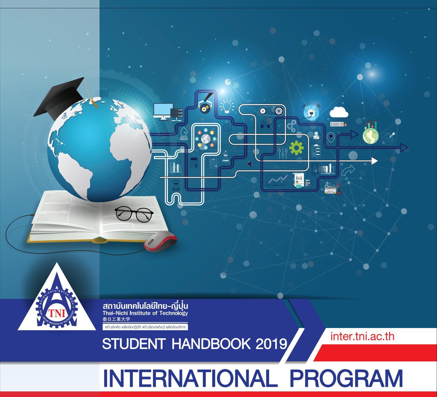 Student Handbook by aukkarawat - issuu