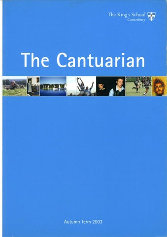 The Cantuarian Autumn 2003 - Summer 2004 by OKS Association