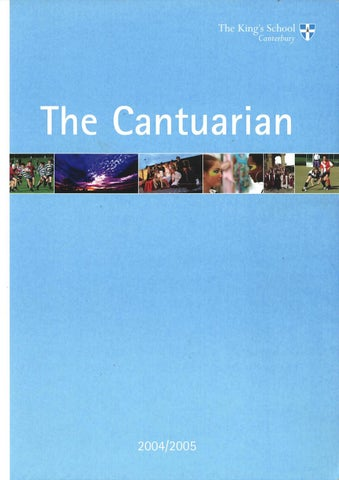 The Cantuarian 2004 2005 by OKS Association issuu
