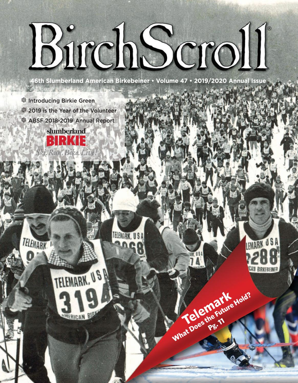 Birch Scroll - 2019/2020 Annual Issue by American