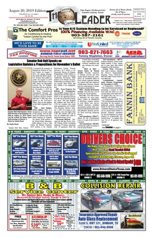8-20-19 Leader E-Edition by The Fannin County Leader - issuu