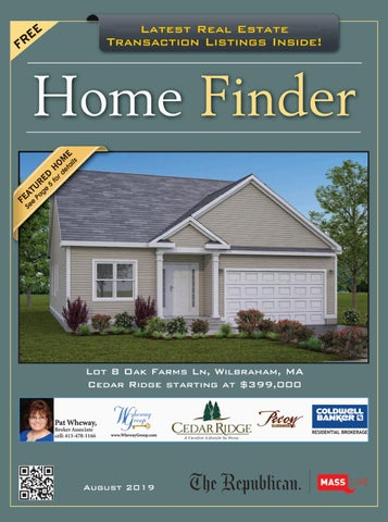 Home Finder August 2019 by repubnews - issuu