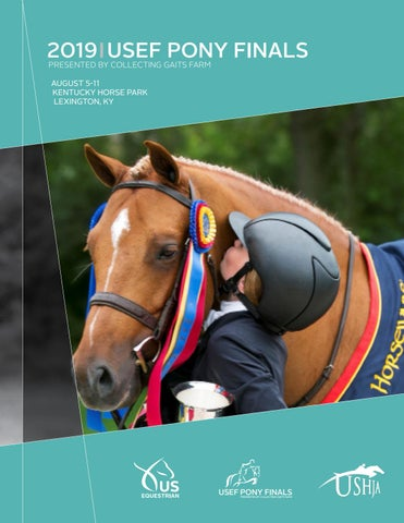 2019 USEF Pony Finals presented by Collecting Gaits Farm by