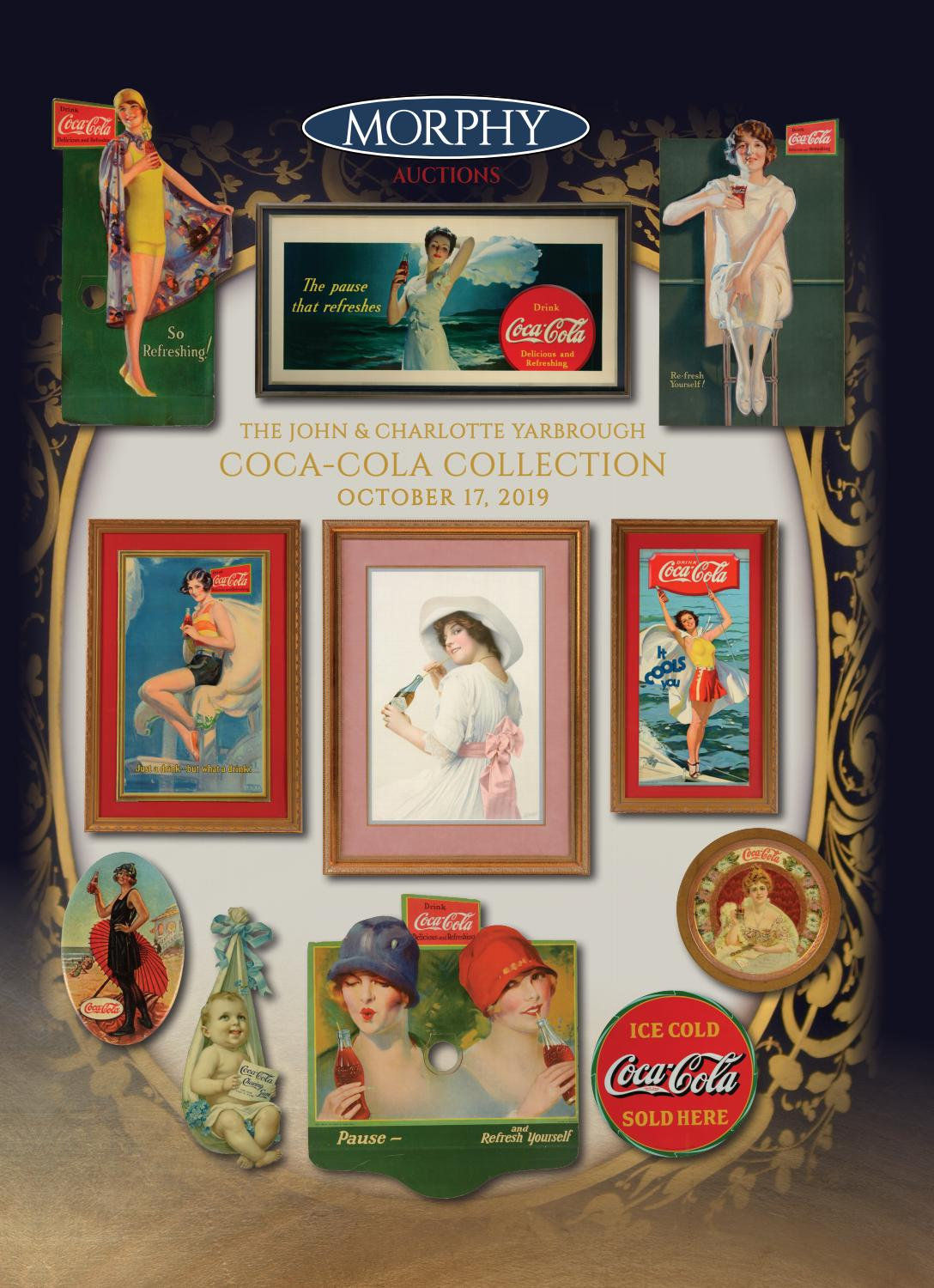 4 Coca-Cola Stickers w// Etched Glass Effect Translucent Coke Decals 2 Set