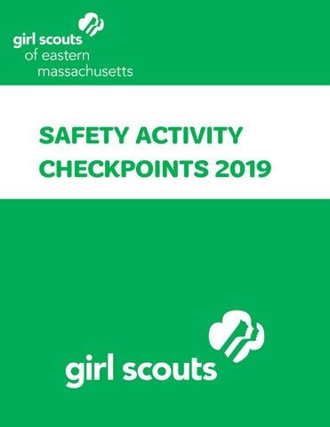 Safety Activity Checkpoints (August 2019) | GSEMA by