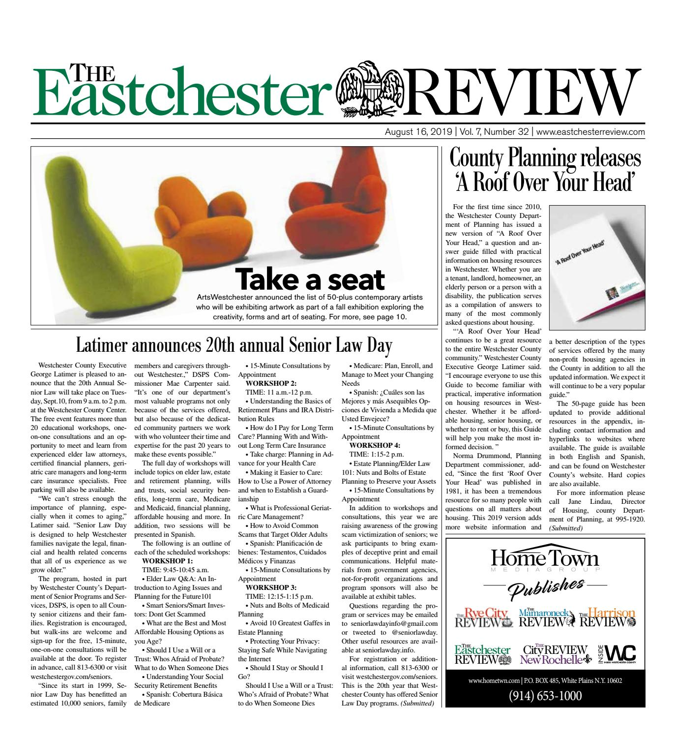 Pleasing August 16 2019 By The Eastchester Review Issuu Dailytribune Chair Design For Home Dailytribuneorg