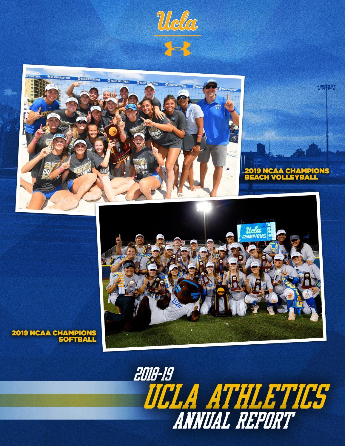 2018-19 UCLA Athletics Annual Report by UCLA Athletics - issuu