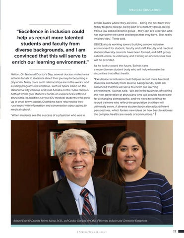 Page 17 of Diversity Program to Create Pathways to Medical School