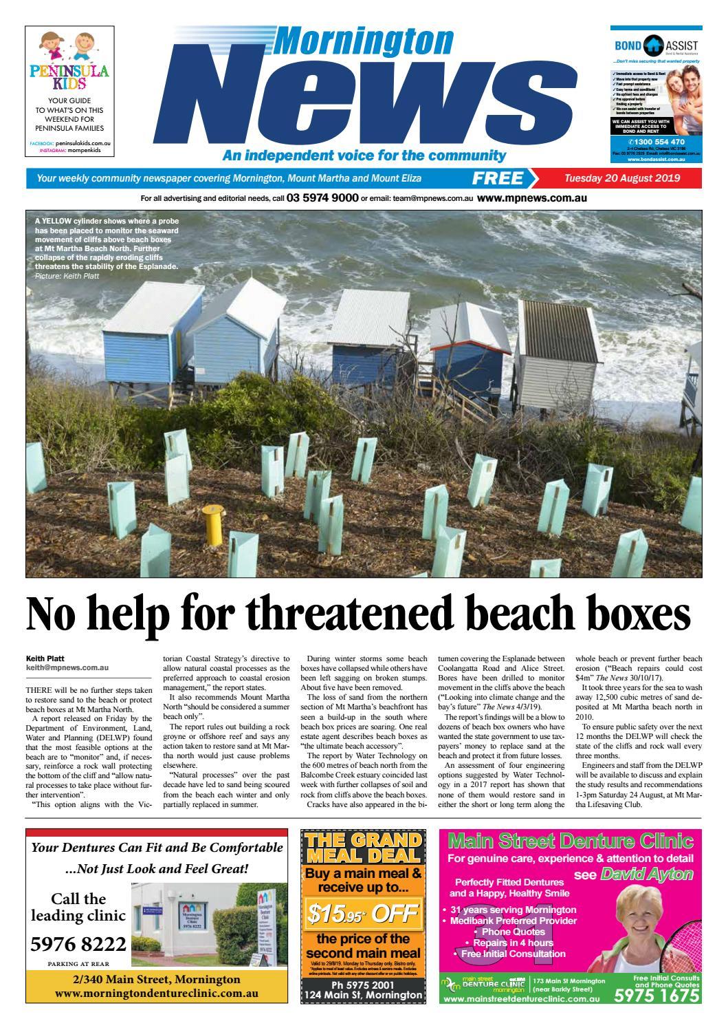 20 August 2019 by Mornington Peninsula News Group - issuu