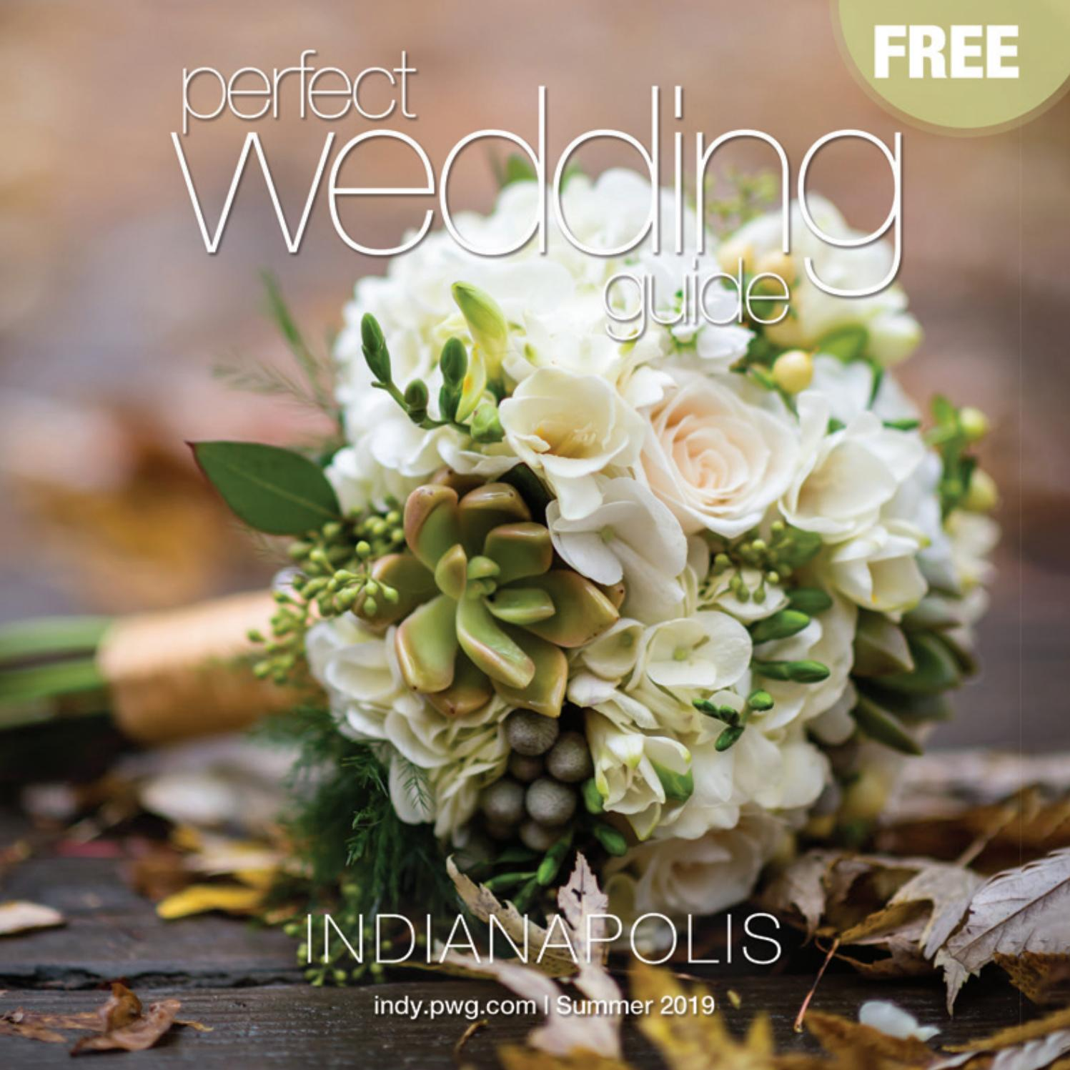 Perfect Wedding Guide Indianapolis Summer 2019 By Jeremy Bowman