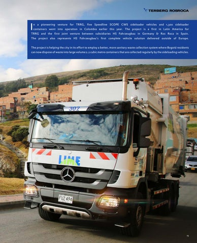 Page 23 of Our Side Loading solution working wonders in Bogotá