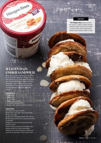 Page 33 of Häagen-Dazs Cookie Sandwich