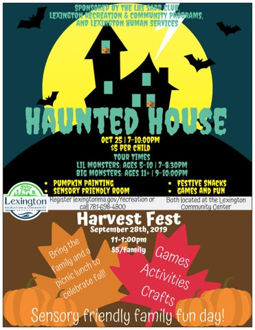 Page 4 of Haunted House & Harvest Fest!