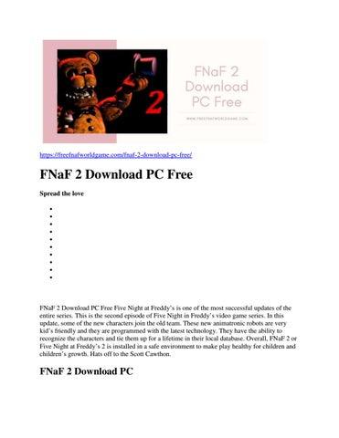 fnaf 1 free download full version pc