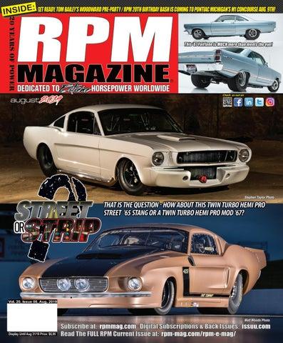RPM Magazine August 2019 by RPM Magazine - issuu