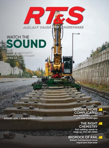 RT&S August 2019 by Railway Track & Structures - issuu