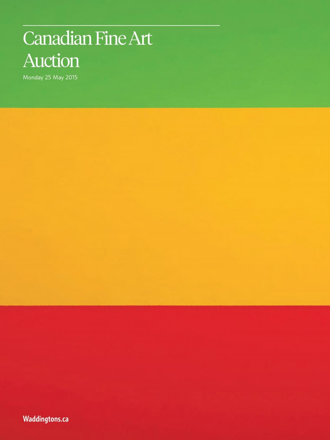 Canadian Fine Art Auction May 25 2015 By Waddingtons Issuu