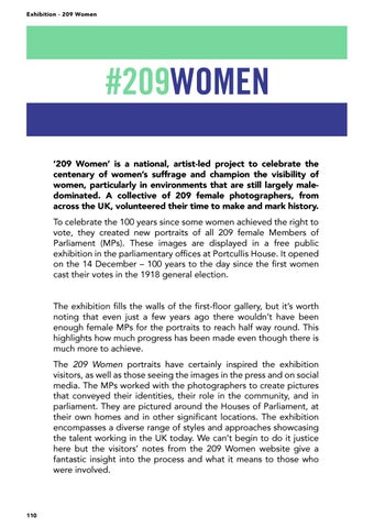 Page 110 of 209 Women Exhibition