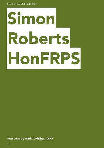 Page 12 of Interview - Simon Roberts HonFRPS