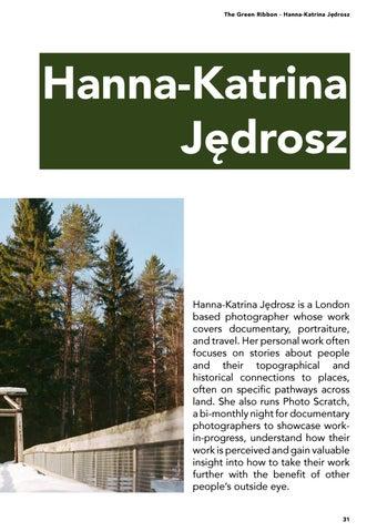 Page 31 of The Green Ribbon - Hanna-Katrina Jędrosz