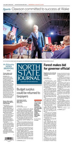 North State Journal Vol. 4, Issue 26 by North State Journal