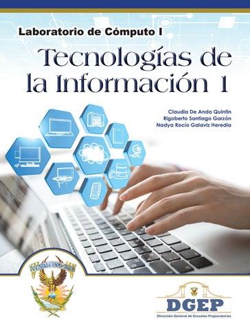 Libro De Tecnologías 1 1er Grado By Profe Jesús Raúl