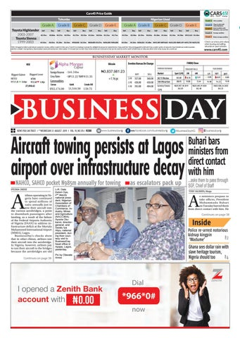 BusinessDay 21 Aug 2019 by BusinessDay - issuu