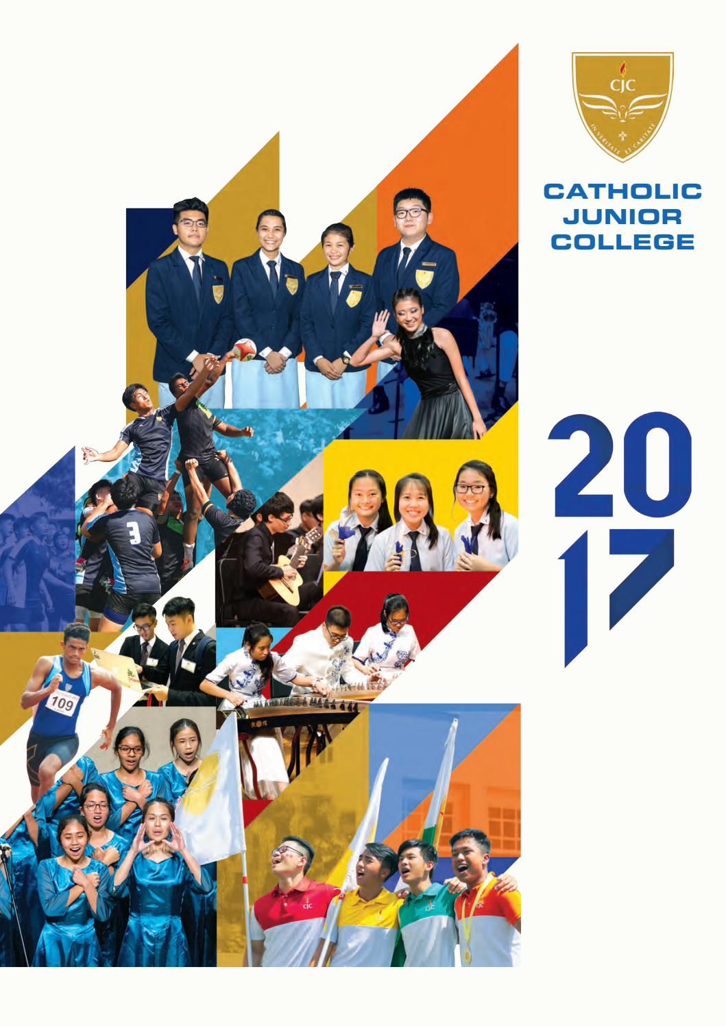 CJC Yearbook 2017 Part 1 by Catholic JC - issuu