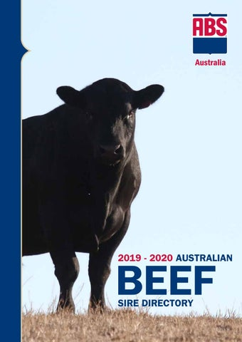 Abs Australia 2019 20 Beef Sire Directory No Prices By Abs